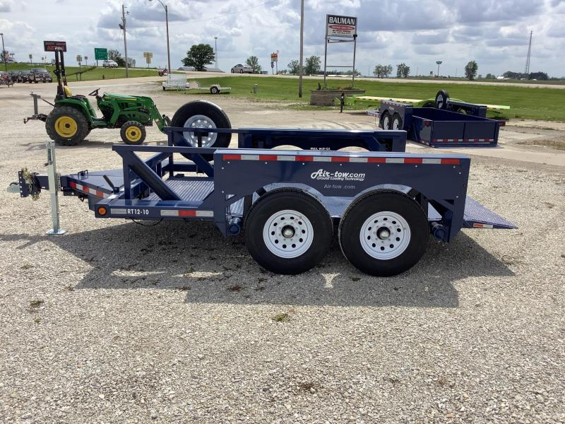 2021 Air Tow T12-10 Tandem Axle Flatbed Flatbed Trailer