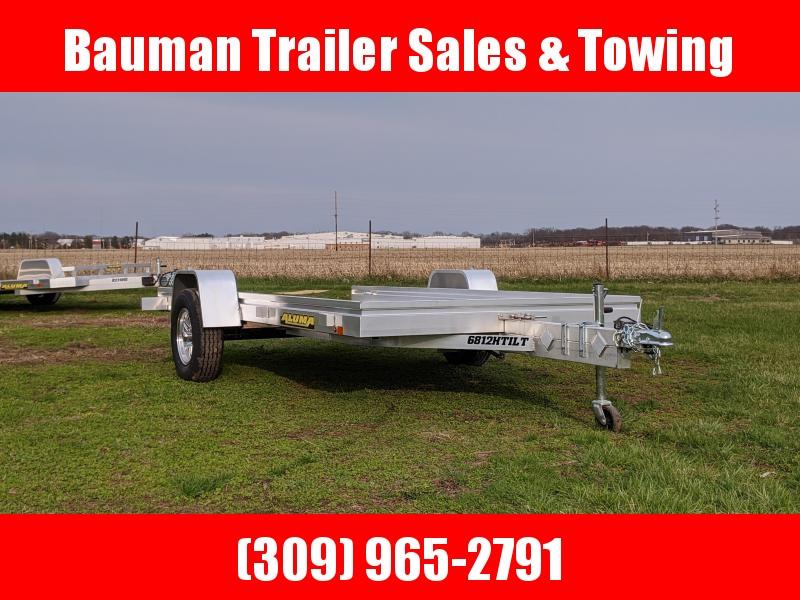 2021 Aluma 6812H Tilt Utility Trailer