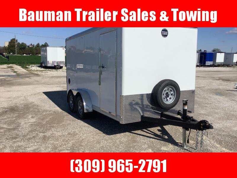 2022 Wells Cargo WHD HEAVY DUTY 7X14 7FT INTERIOR HEIGHT Enclosed Cargo Trailer
