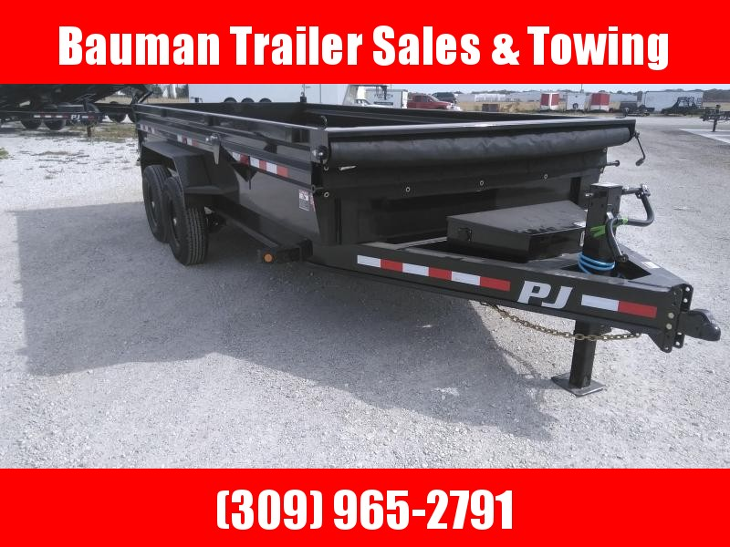 2021 PJ Trailers 83X16  Low Pro Dump (DL) Dump Trailer