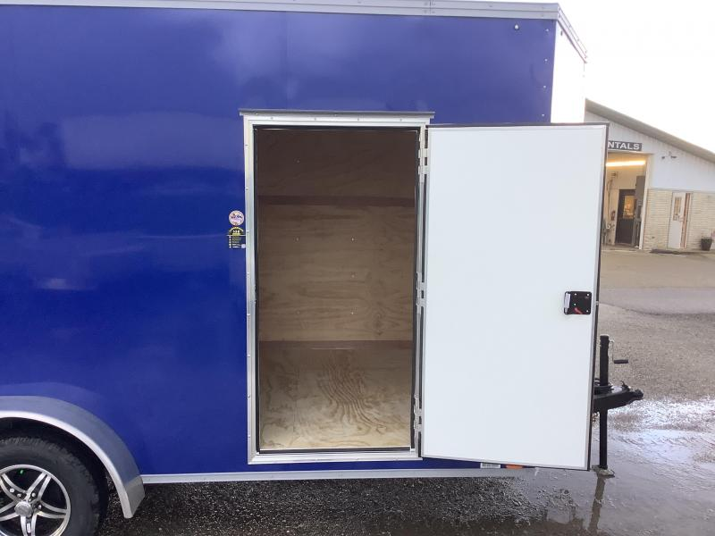 """2022 United Trailers UNITED TRAILERS XLV 7 X 16 FT.12"""" EXTRA HEIGHT EN Enclosed Cargo Trailer"""