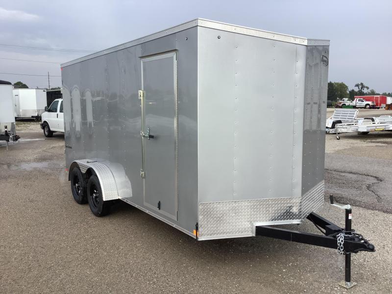 """2022 Formula Trailers Traverse 7x16 UTV TRAILER 12"""" EXTRA HEIGHT Enclosed Cargo Trailer"""