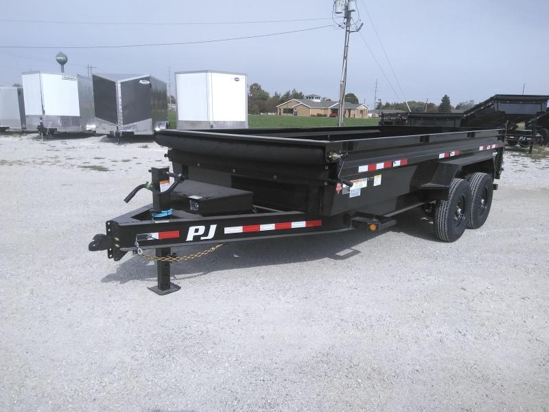 2021 PJ Trailers 83X16  Low Pro Dump (DL) Dump Trailer