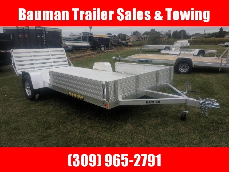 2020 Aluma 8114 BT Utility Trailer