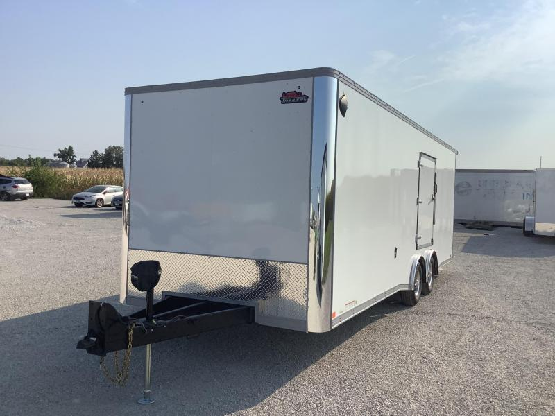 """2022 United Trailers XLT8.5X24TA52 6"""" EXTRA HEIGHT Car / Racing Trailer"""