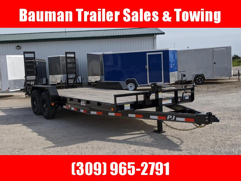2020 PJ Trailers 6 in.20Ft Channel Equipment (CC) Flatbed Trailer