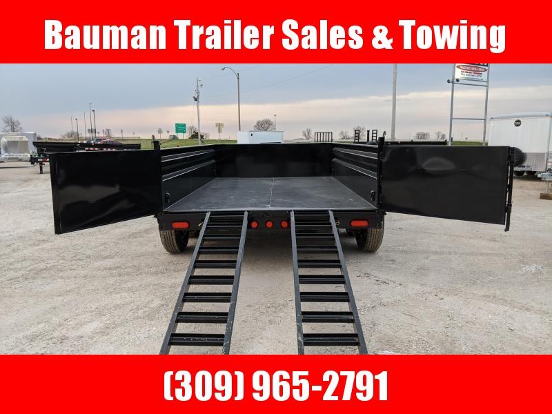 2021 PJ Trailers 83 x12 Low Pro Dump (DL) Dump Trailer