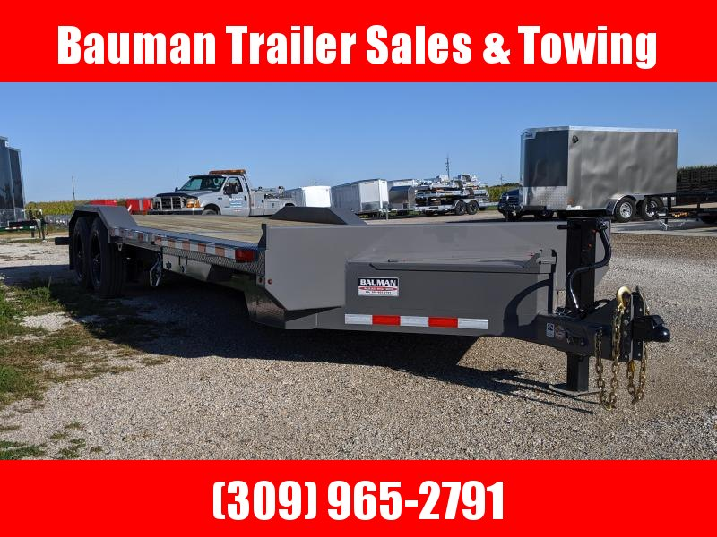 2021 Midsota TBWB-24 Flatbed Trailer