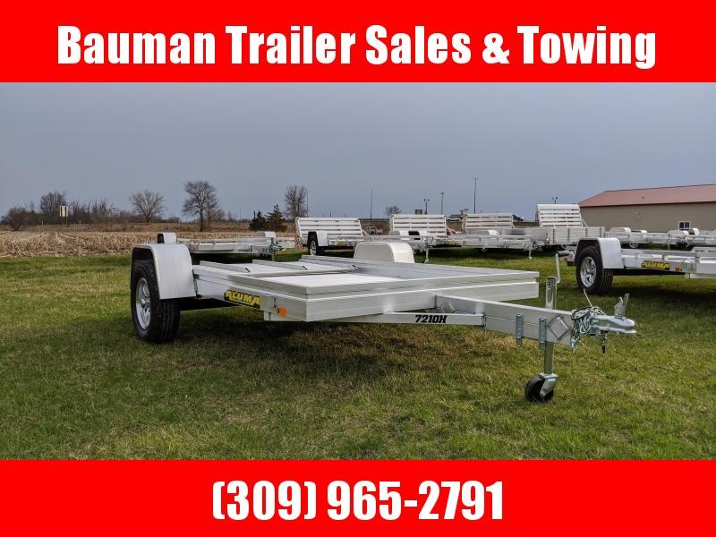 2021 Aluma 7210H Utility Trailer