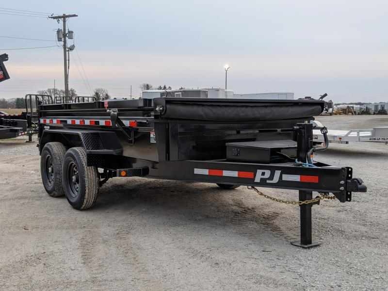 2021 PJ Trailers 83 x12 Low Pro Dump (DL) Dump Trailer