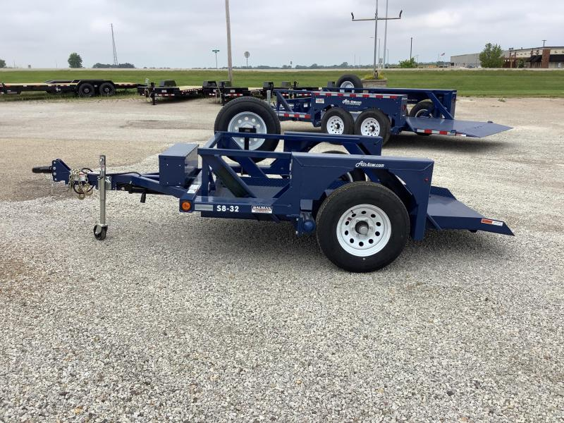 2021 Air Tow S8-32 Single Axle Flatbed Flatbed Trailer