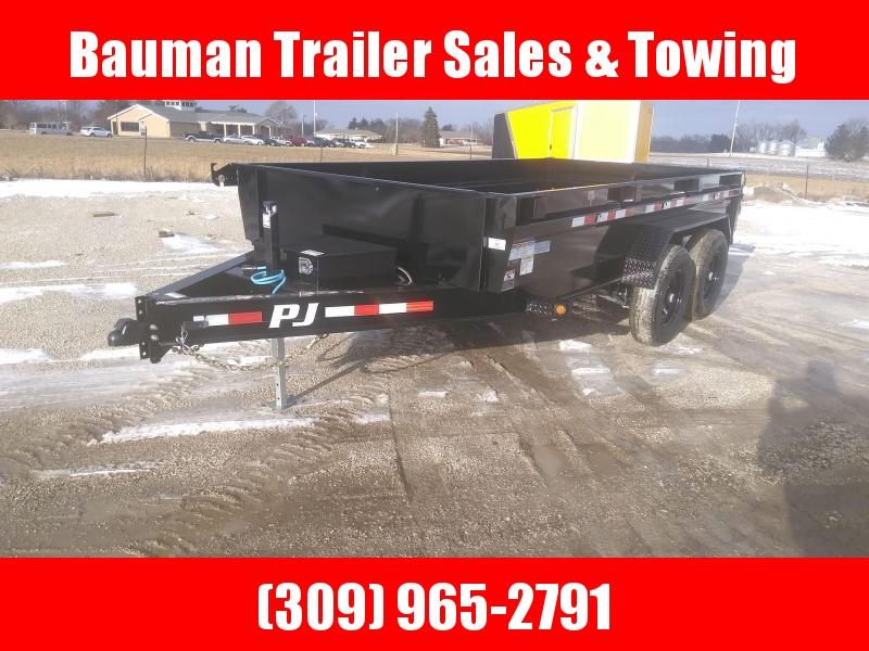 2021 PJ Trailers DG 83X14FT DUMP TRAILER Dump Trailer