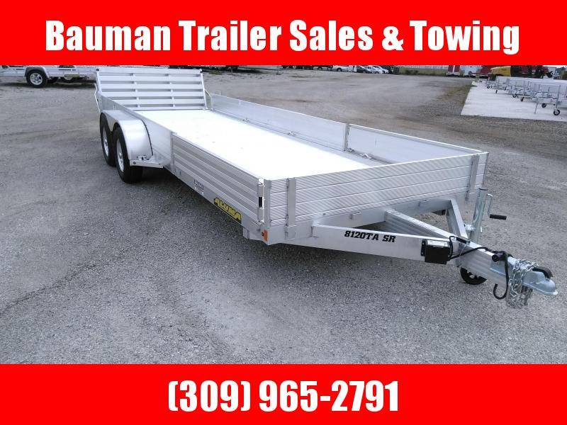 2022 Aluma 8120TASR Utility Trailer