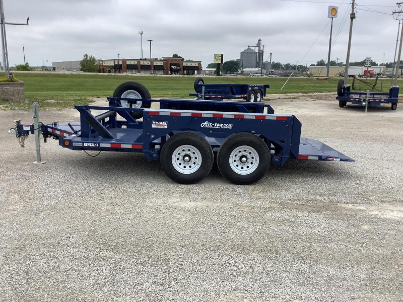 2021 Air Tow Rental 14 Flatbed Flatbed Trailer