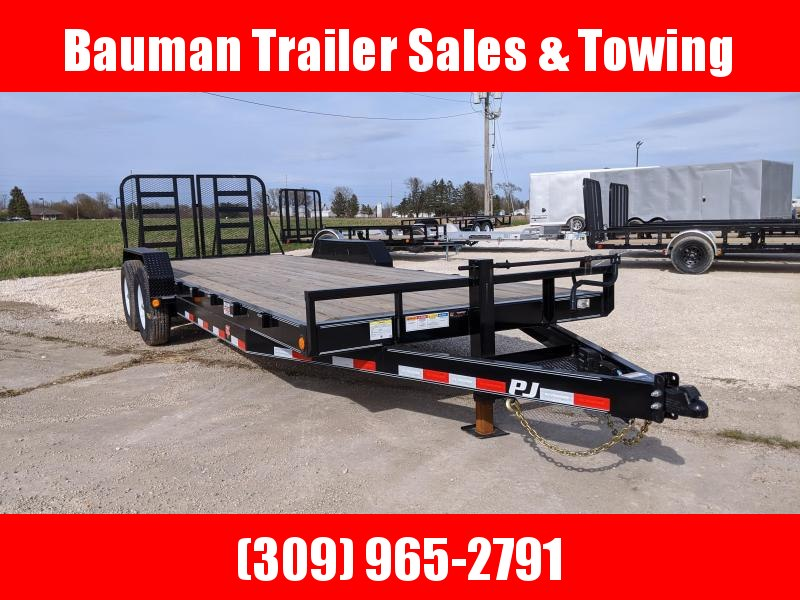 2020 PJ Trailers 6 in. 22ft Channel Equipment (CC) Flatbed Trailer