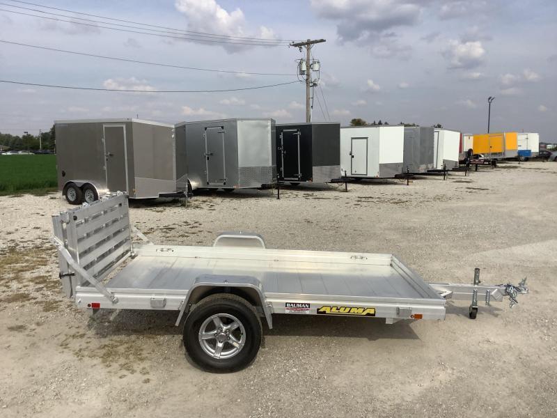 2022 Aluma 6810HBT Utility Trailer