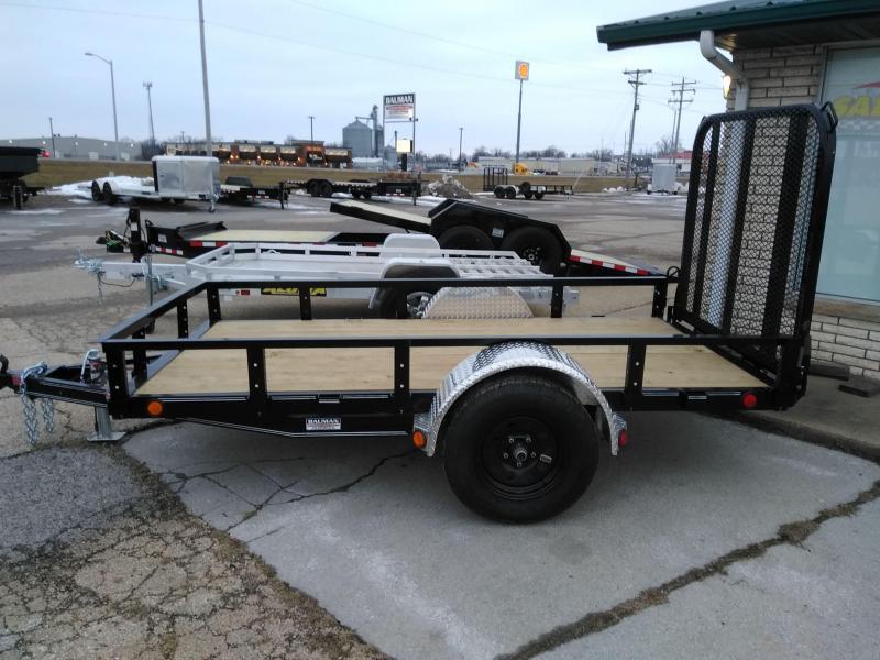 2021 PJ Trailers 60 X10 Single Axle Channel Utility (U6) Utility Trailer