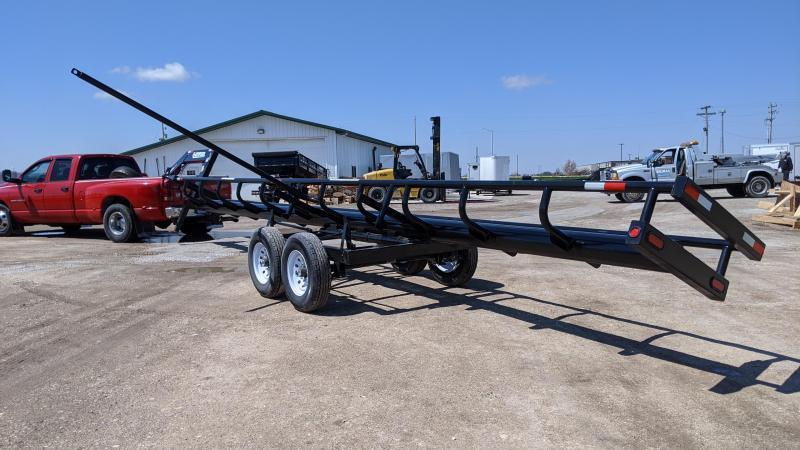 2021 Other 36FT EZ-HAUL ROUND BALE TRAILER Other Trailer