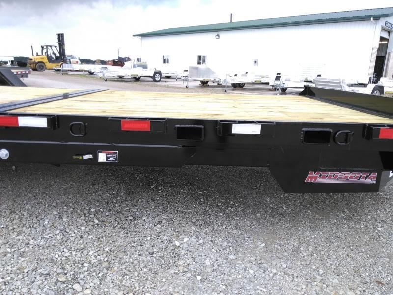 2021 Midsota TBHD-24 Equipment Trailer