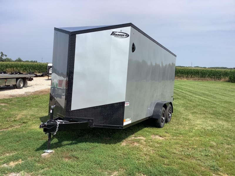 "2022 Formula Trailers 12"" EXTRA HEIGHT UTV Triumph 7x16TE2 Enclosed Cargo Trailer"