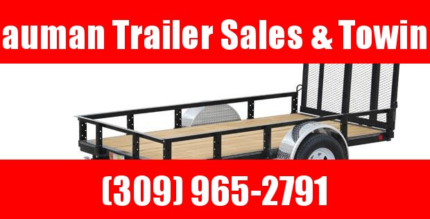 2021 PJ Trailers 60X8 Single Axle Channel Utility (U6) Utility Trailer