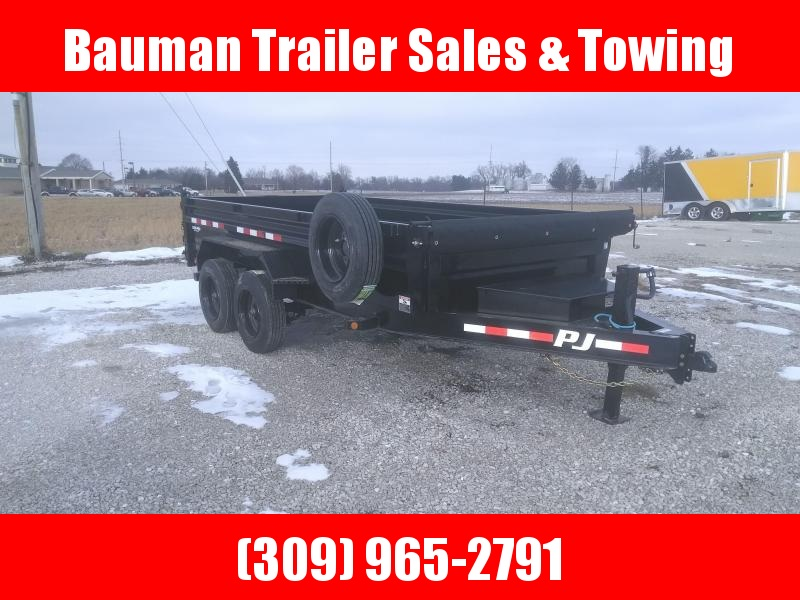 2021 PJ Trailers 83X14 DX HEAVY DUTY DUMP TRAILER Dump Trailer