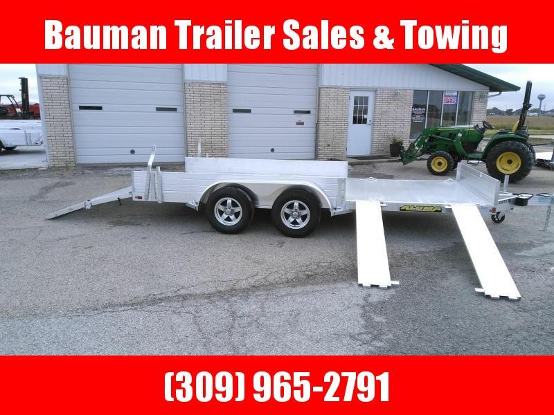 2021 Aluma 8116TASR Utility Trailer