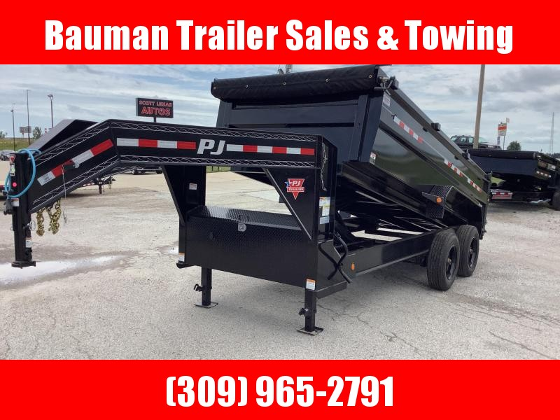 2022 PJ Trailers HD Low-Pro Dump (DE) Dump Trailer
