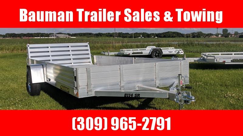 2021 Aluma 8114SR Utility Trailer