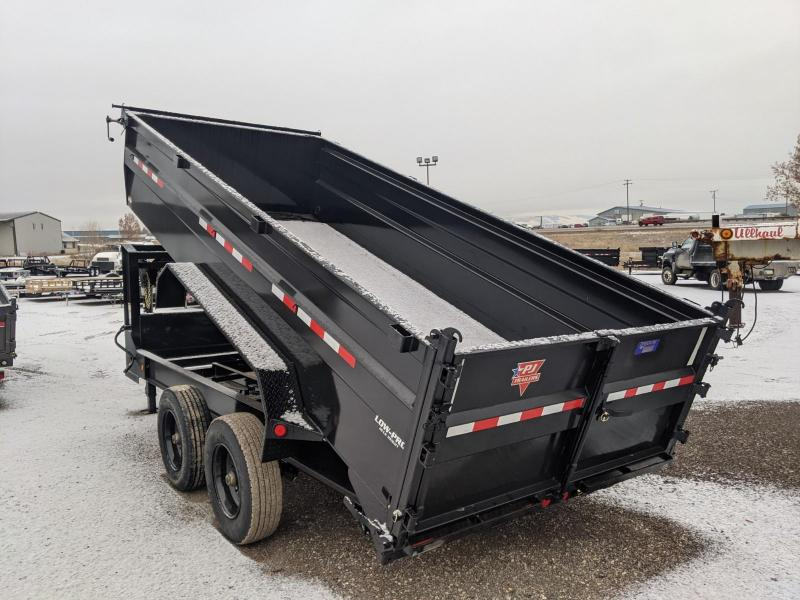 2021 PJ Trailers HD Low-Pro Dump (DE) 16' GN