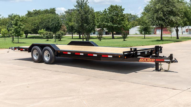 "2021 MAXXD H6X - 6"" Channel Buggy Hauler Car / Racing Trailer"