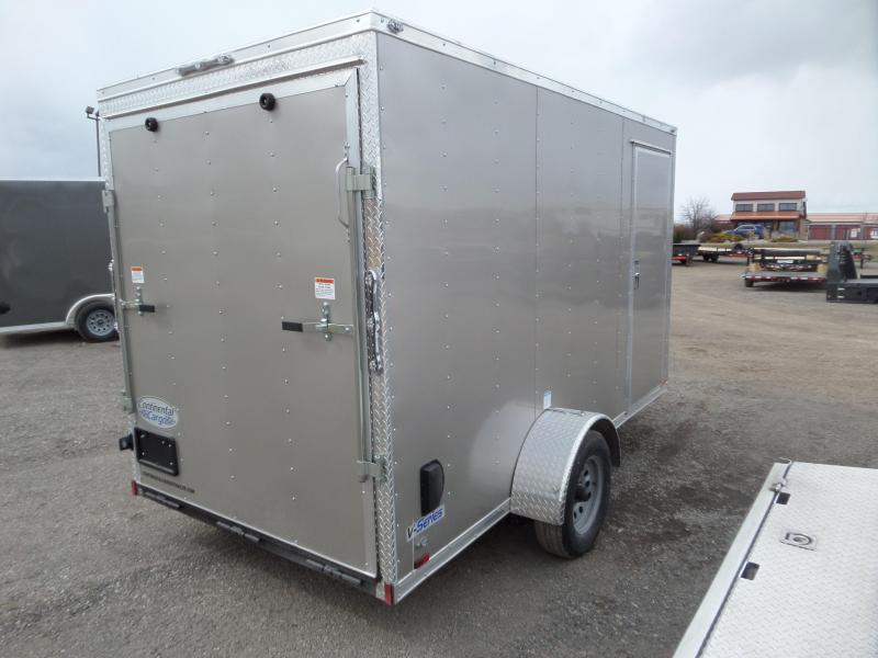 2021 Continental Cargo V-Series 6' x 12' Enclosed Cargo Trailer