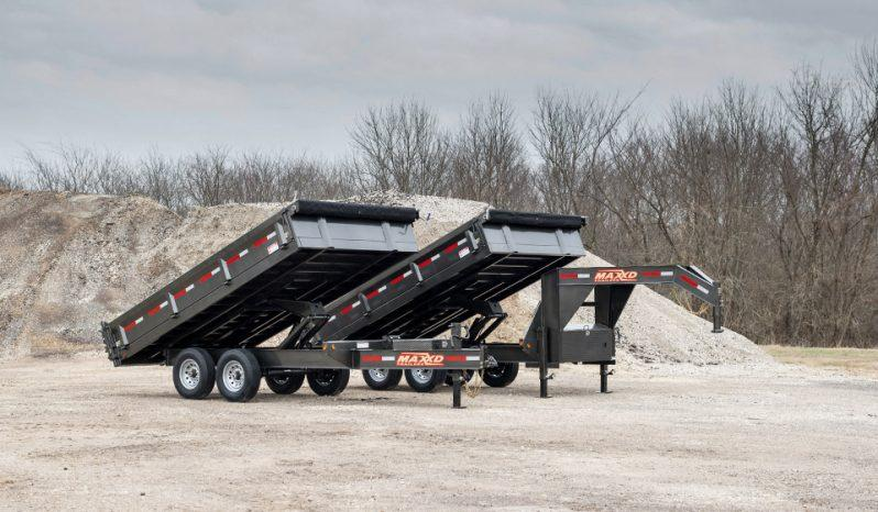 "2021 MAXXD D9X - 96"" x 16' GN Deckover Dump Trailer"