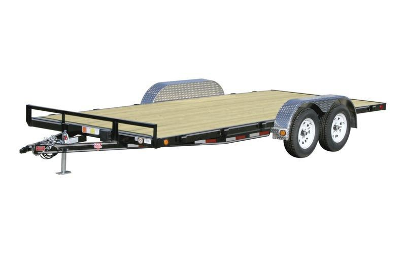 "2021 PJ Trailers 83"" x 16' 4"" Channel Carhauler (C4) Car / Racing Trailer"