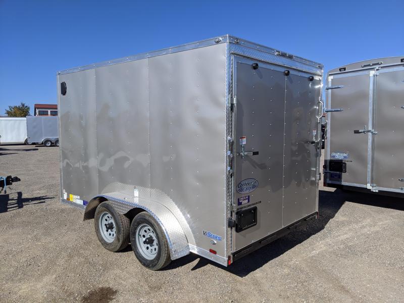 2021 Continental Cargo VHW712TA2 Enclosed Cargo 7x12 Trailer