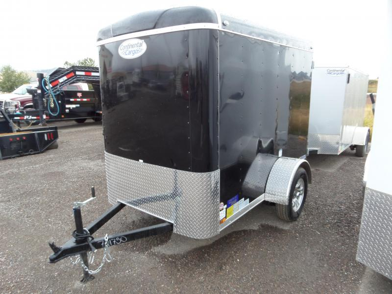 2021 Continental Cargo 5' x 8' Enclosed Cargo Trailer
