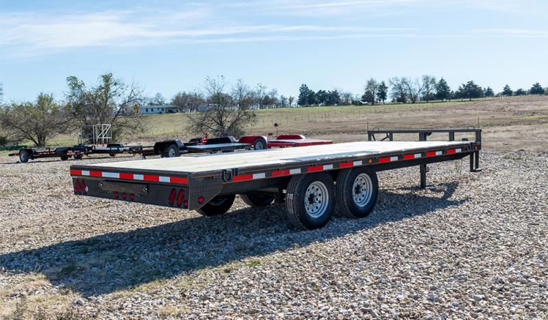 2021 MAXXD DOX - 14K I-Beam Deckover Trailer Equipment Trailer