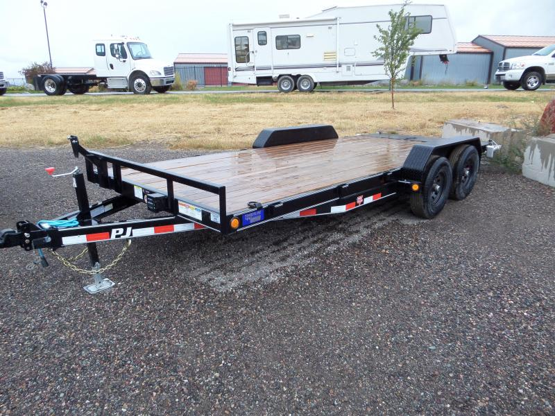 2020 PJ Trailers 5 in. Channel Equipment (CE) 18'