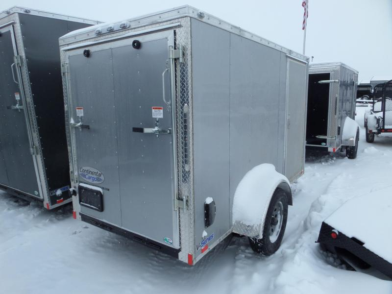 2019 Continental Cargo V-Series 5 x 10 Enclosed Cargo Trailer
