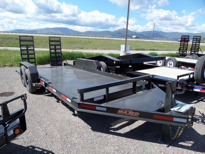 2019 MAXXD B6X - Low Profile Skid Steer Trailer Equipment Trailer