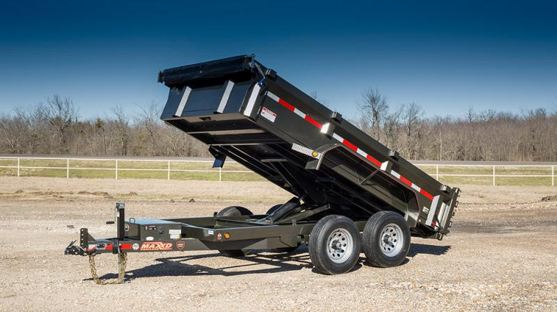"2021 MAXXD D7X - 72"" Dump Trailer Dump Trailer"