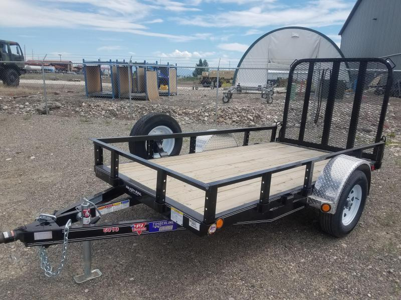 2019 PJ Trailers Single Axle Channel Utility (U6) Utility Trailer 10' x 60""