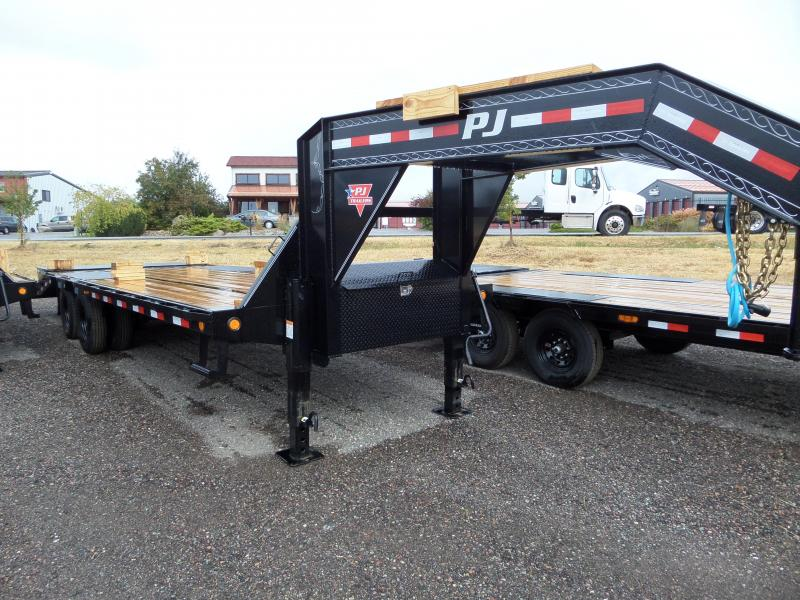 2021 PJ Trailers Low-Pro Flatdeck with Duals (LD) 25'