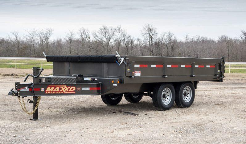 "2021 MAXXD D9X - 96"" Deckover Dump Trailer Dump Trailer"