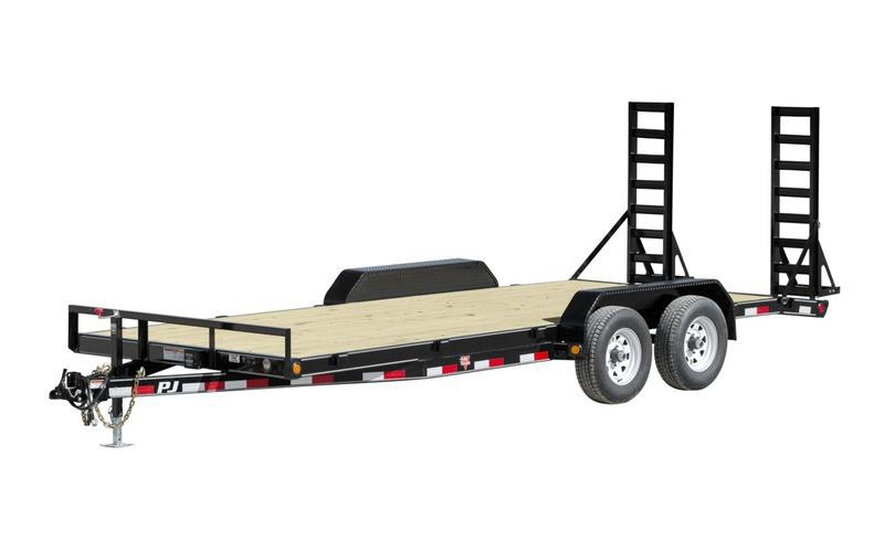 "2021 PJ Trailers 83"" x 20' 5"" Channel Equipment (CE) Equipment Trailer"