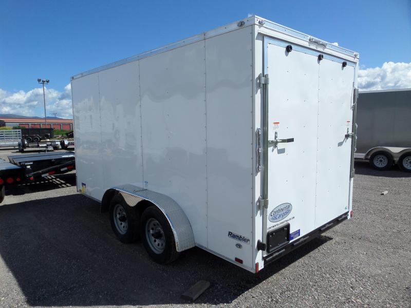2021 Continental Cargo Rambler Enclosed Cargo Trailer