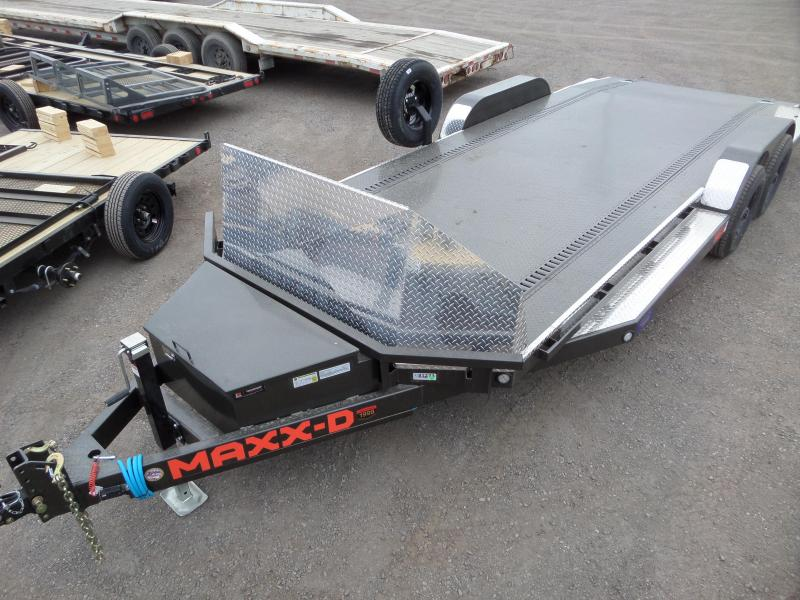 2021 MAXXD N6X 10K Tube Car Hauler Car / Racing Trailer