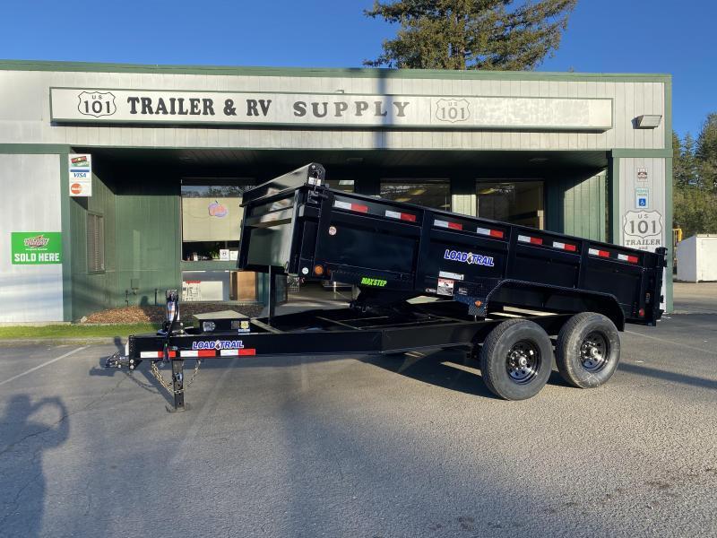 "Load Trail DT142 83"" x 14' Dump Trailer"