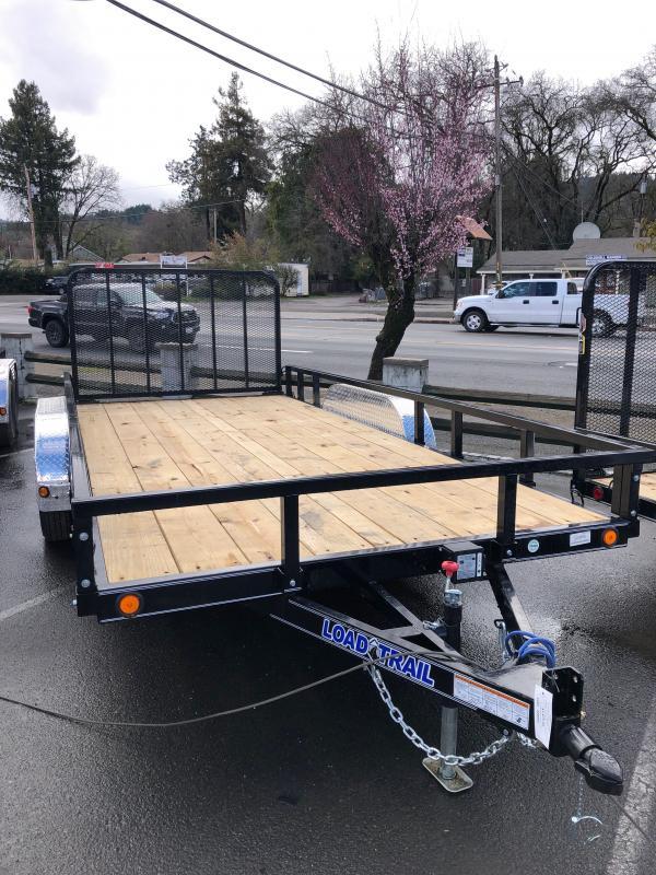 "2021 Load Trail UT162 Utility Trailer 83""x16' (4"" channel frame)"