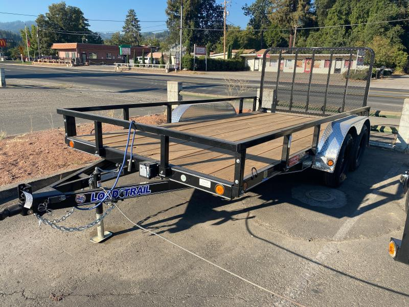 "2021 Load Trail 83"" X14' 7K Utility Trailer"